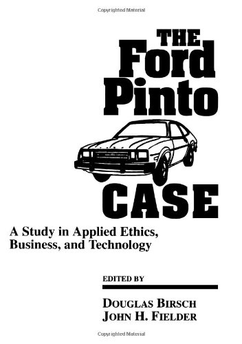 the ford pinto case study Case study – ford pinto case order description business ethics courses taught in colleges and universities are sometimes thought to be primarily about.