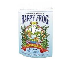 Foxfarm Happy Frog Steamed Bone Meal 3-15-0: 4 Lb Bag