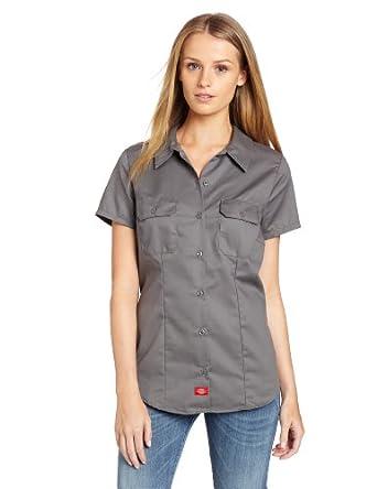 62344c0c6974b7 Dickies Women s Short Sleeve Work Shirt