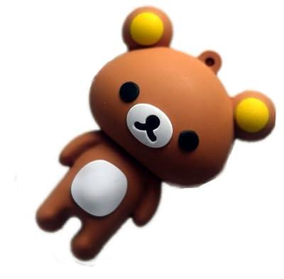 Kinobo USB Teddy Bear 4GB - Fun memory stick/drive for XP/Visa/Windows 7/Mac from Kinobo