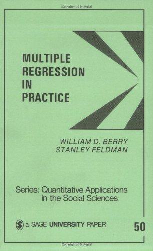 Multiple Regression in Practice (Quantitative...