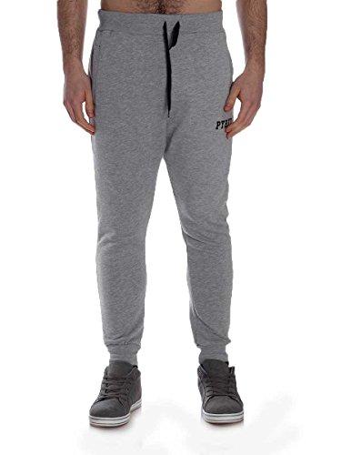 Pantalone Pyrex in Felpa Garzata 28903 Grigio chiaro, L MainApps