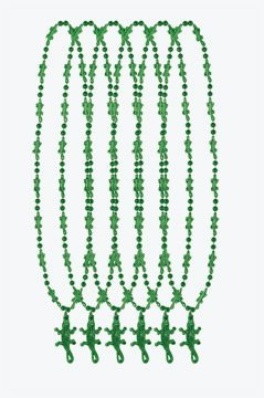 Crocodile Beads   (6/Card)