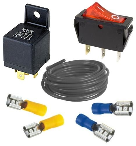 Hd 12 Volt Relay Kit - 70 Amp