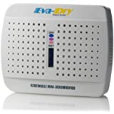 Eva-Dry E-333 Renewable Wireless Mini Dehumidifer