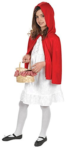 Riding Hood Cape Costume Accessory (Red Riding Hood Cape For Teens compare prices)