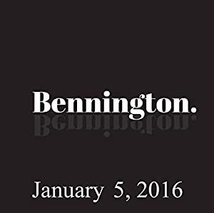 Bennington, January 5, 2016 Radio/TV Program