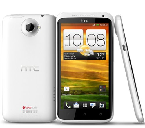 HTC One X 16GB Unlocked GSM 4G LTE Android Smartphone w/ Beats Audio - White (Htc One X compare prices)