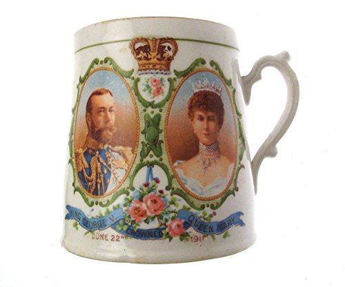 c1911 Royal Wintonia Grimwades commemorative mug Coronation of King George V - CLT45