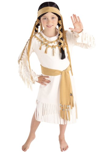 Rubie's Costume Indian Princess Child's Value Costume, One Color, Medium
