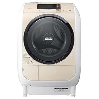 日立 9.0kg ドラム式洗濯乾燥機【左開き】ライトベージュHITACHI BD-V3700L-C