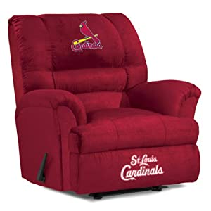 MLB St. Louis Cardinals Big Daddy Microfiber Recliner by Imperial