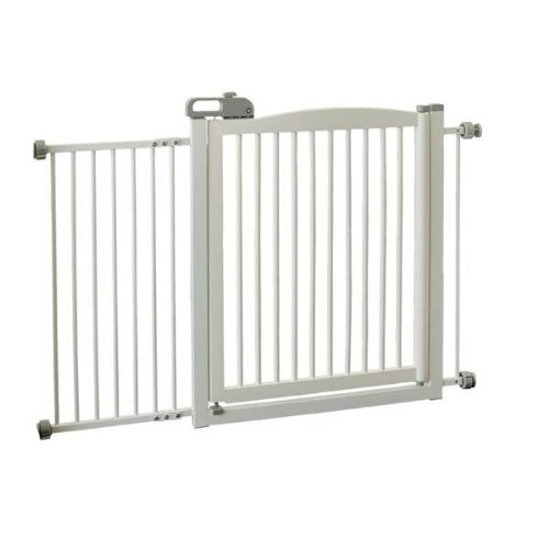 New - One-Touch Pet Gate 150 White 35 by Richell