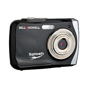 Bell+Howell Splash WP7 12 MP Waterproof Digital Camera-Black Bell+Howell Splash WP7 12 MP Waterproo