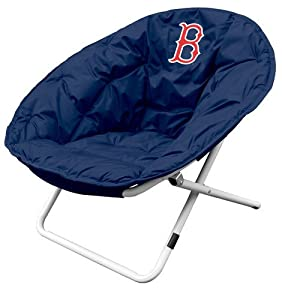 Logo Chairs 505-15 MLB Sphere Chair - Boston Red Sox by Logo Chairs