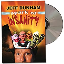 Jeff Dunham Spark of Insanity: Puppet Ventriloquist Comedy DVD