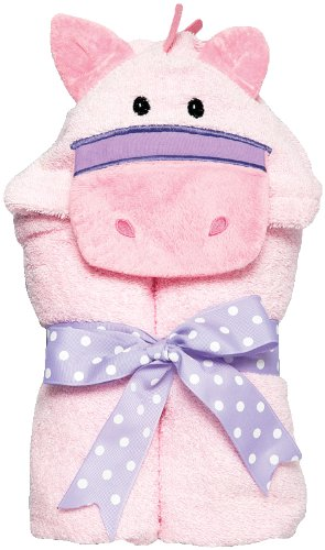 AM PM Kids! Tubby Towel, Pink Pony