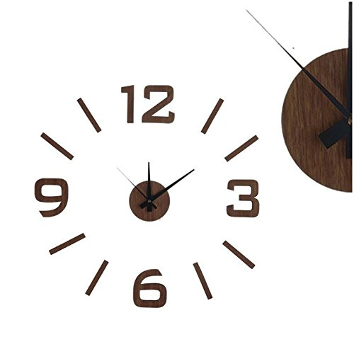 reloj-de-pared-adhesivo-madera-oscura