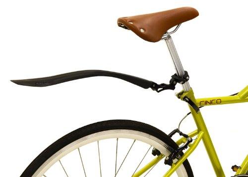 OGK クロスバイク用リアフェンダー MF-021R 黒