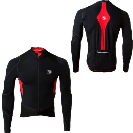 Image of Giordana FormaRed Carbon Long Sleeve Jersey (B002ZLYUGW)