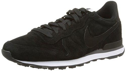 Nike  Internationalist Leather, Scarpe sportive, Uomo, Multicolore (Black/Black-Dark Grey-White), 44.5