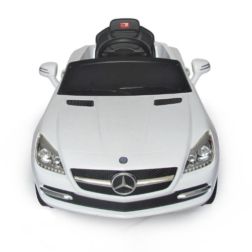 mercedes benz slk kids 6v electric ride on toy car w parent remote control white