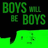 DeStudio Boys Will Be Boys Glow In Dark Wall Sticker, Size : TINY, Color : GLOW IN DARK