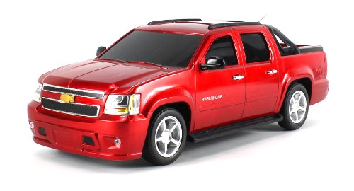 Licensed Chevy Avalanche Electric Rc Truck Gk Series 1:16 Scale Ready To Run Rtr W/ Working Head And Tail Lights (Colors May Vary)