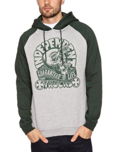Independent Gouge Hood Men's Sweatshirt Green X Small