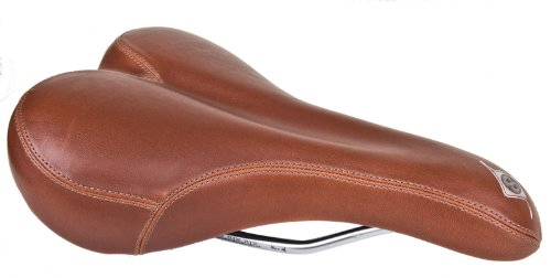 Origin8 Sport Uno-S Saddle, Brown (Brown Bike Seat compare prices)