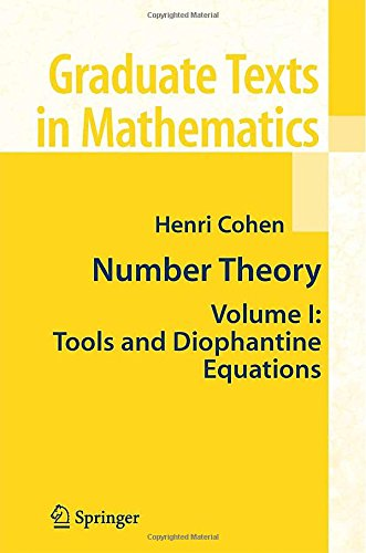 Number theory vol.1. Tools and diophantine equations