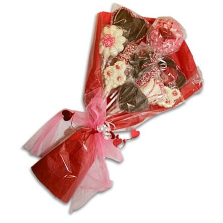 4th anniversary: Chocolate Flower Bouquet gift