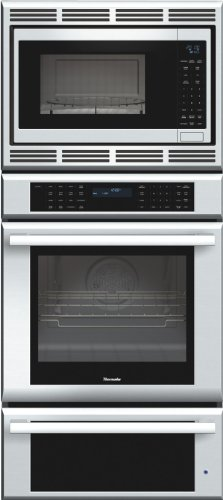 Thermador Masterpiece Series MEDMCW71JS 27inch Double Combination Electric Wall Oven