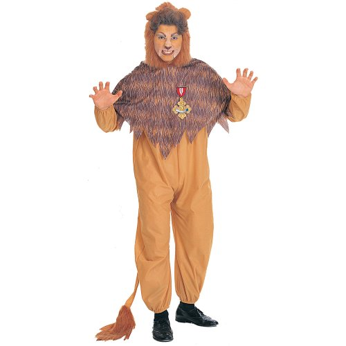 Rubies Costumes Unisex The Wizard Of Oz Cowardly Lion Adult Costume