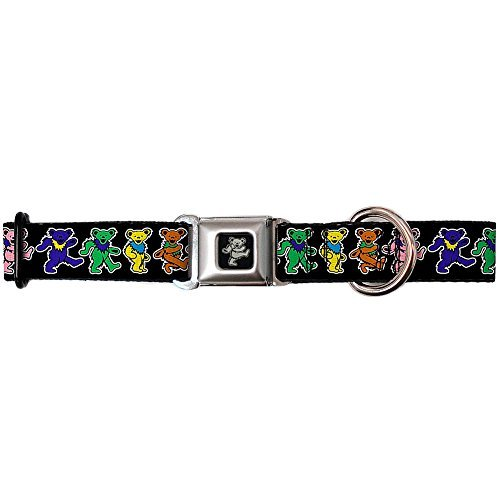 grateful-dead-psychedelic-rock-band-rainbow-dancing-bears-seatbelt-pet-collar-by-buckle-down