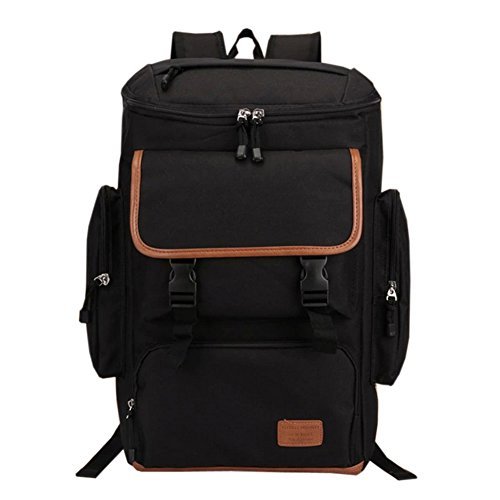 Deer Mum Classical 2014 Fashion Style Climbing Camping Backpack Rucksack Hiking Mountaineers Outdoor Bag Daypack Rucksack (Black) front-198028