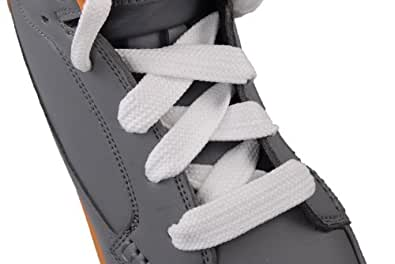 thick shoelace athletic quot white quot 7 eyelets 52