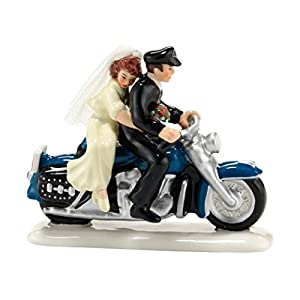 Department 56 Original Snow Village Harley Ever After Accessory, 1.57-Inch