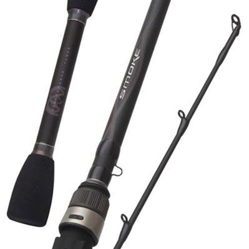 Quantum fishing smoke spinning 1pc rod 7 feet medium heavy for Heavy fishing rod