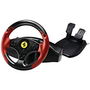 Thrustmaster VG Ferrari Racing Wheel - Red Legend Edition - PlayStation 3 from Thrustmaster VG