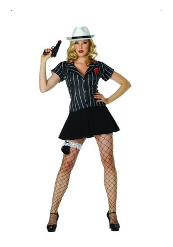 Hoodlum Honey Dress With Black Pleated Skirt ,Upholster, Hat