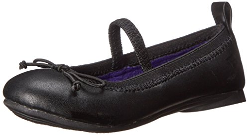 Kenneth Cole Reaction Copy Tap 2 Ballet Flat (Toddler/Little Kid),Black Leather,12 M Us Little Kid front-863585