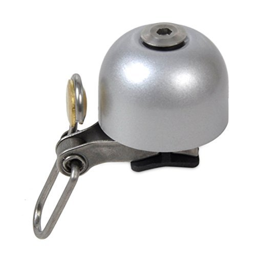 Retro RockBros Bike Bicycle Cycling Handlebar Bell Ring Classic Bell Horns Alarm (Color: Silver) (Stainless Steel Trailer Jack compare prices)