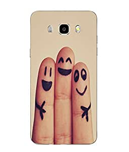 Case Cover Printed Multicolor Soft Back Cover For SAMSUNG Galaxy J5 - 6 (New 2016 Edition)
