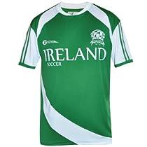 Croker Ireland Soccer Shirt, Green, L