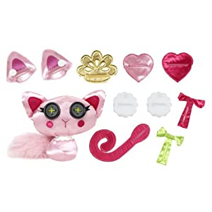 Lalaloopsy Button Tails – Plush Mouse and Cat Toys