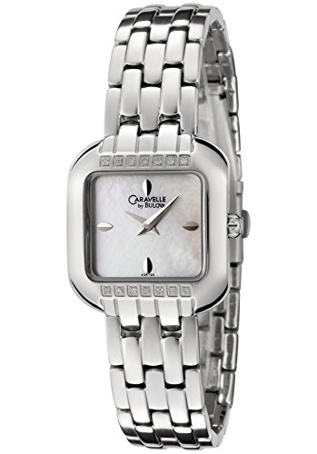 Caravelle By Bulova Diamond Ladies Watch 43R100