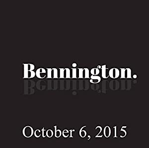 Bennington, Amy Ryan and Nick DiPaolo, October 6, 2015 Radio/TV Program