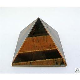 Pyramid 4X4X3CM Tiger\'s Eye