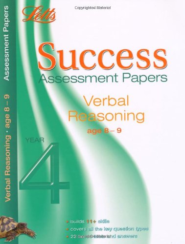 Verbal Reasoning Age 8-9: Assessment Papers (Letts 11+ Success)